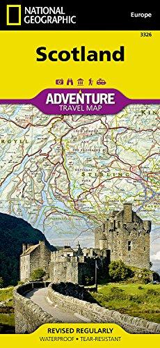 Scotland adv. ng wp (National Geographic Adventure Travel Maps) par National Geographic Maps