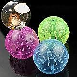 Jiacheng29 Haustier-Spielzeug für Nager, Mäuse, Joggen, Hamster, Rennmäuse, Ratte, Spielzeug aus Kunststoff