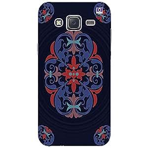 Blue Navy Design - Mobile Back Case Cover For Samsung Galaxy J2 (2016)