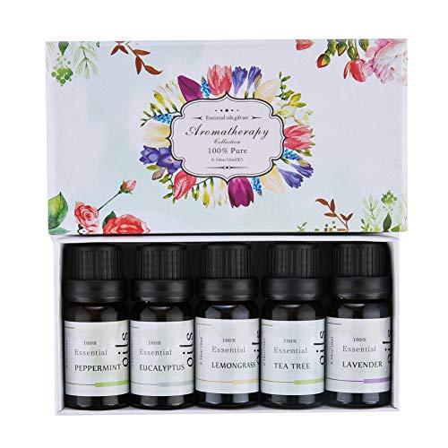 Blanchel Pure Plant Ätherisches Öl Set Pflegende Haut Kratzen Fußbad Aromatherapie Massage Ätherisches Öl Kit -