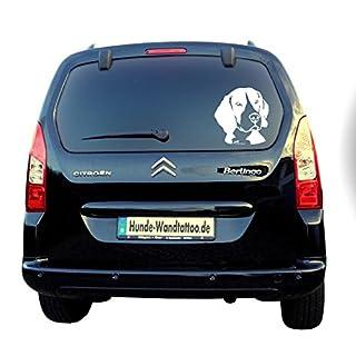 amberdog Autoaufkleber Beagle Kopf Art.Nr.ATK0102 Auto Aufkleber Wohnmobil Wohnwagen Hundekopf