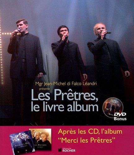 Les Prêtres, le livre album (1DVD)