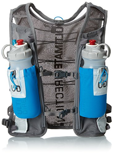 Ultimate Direction Ak Race Vest - Mochila, color gris, talla M/L