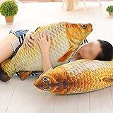 TOYMYTOY-58cm-3D-Big-Fish-Throw-Pillow-Nursery-Dormitorio-suave-felpa-Carpa-de-peluche-de-juguete