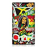 Head Case Designs Coque protectrice pour Nokia Lumia 520 Motif collage rasta