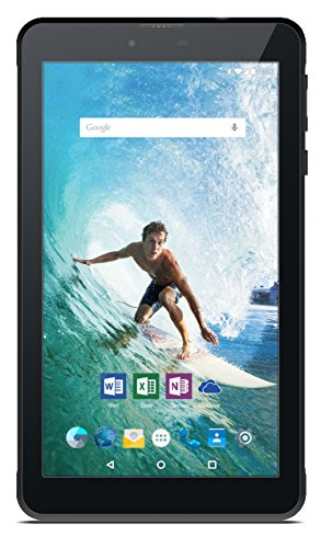 Odys Rapid 7 LTE 17,8 cm (7 Zoll) Tablet-PC (MTK 8735M Quad Core, 1GB RAM, 16GB HDD, ARM Mali T720 MP2, Telefonfunktion, Dual-SIM, GPS, Android 5.1) schwarz
