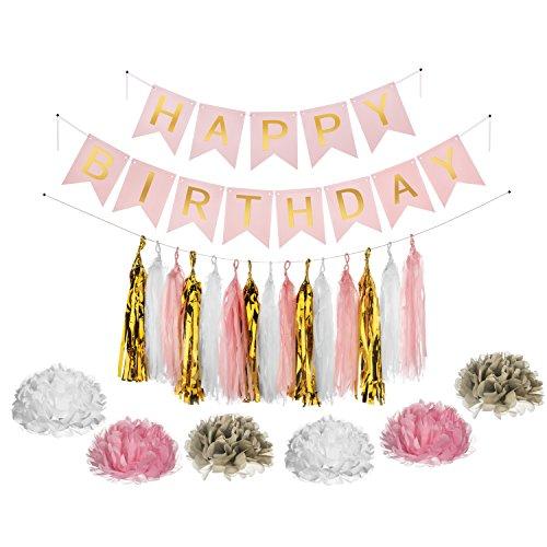 ive Geburtstagsparty Dekoration Pack (Partei Streamer Ideen)