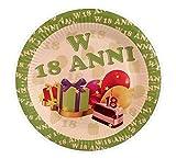 Gastgeschenktorte zur Geburt oder Taufe, mit Schlüsselanhänger und Kinderwagen, rosa, personalisierbar 60 Pezzi