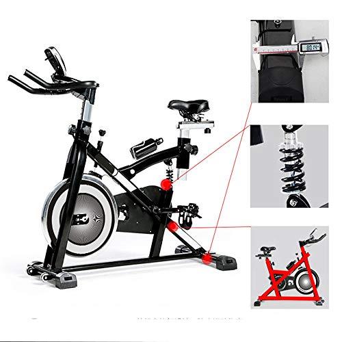 Cyclette coperta bici da allenamento per bicicletta stazionaria per bicicletta stazionaria per uso in casa e in palestra allenatore di aerobica ideale ( colore : nero , dimensione : free size )