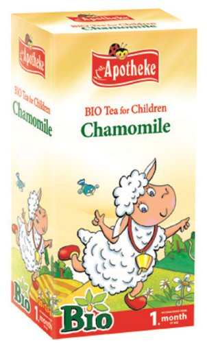 Chamomile Tea for Children and Babies from 1 week +
