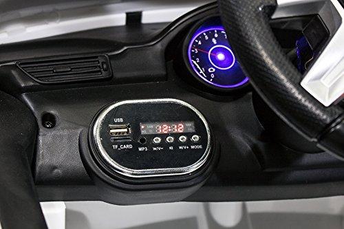 RC Auto kaufen Kinderauto Bild 3: Kinder Elektro Auto Mercedes Benz ML350 2x25W 12V Elektroauto Kinderfahrzeug Ferngesteuert Elektro ml 350 (Schwarz)*