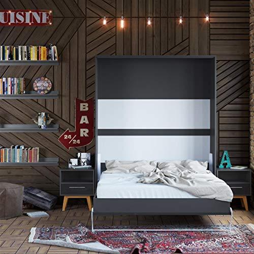 Bett schrank 160x200 for Jugendzimmer mit gastebett