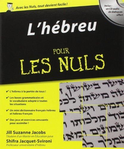L'hébreu pour les Nuls de Shifra JACQUET-SVIRONI (19 août 2010) Broché