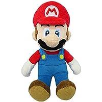 Super Mario - Peluche Mario con Licencia Oficial de Nintendo, 20 cm (AGMSM6P-