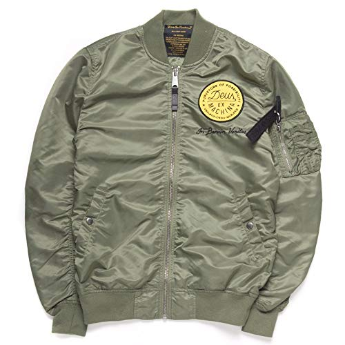 Deus ex machina Alpha Industries - MA1 Flight Jacket Grün L CO_A040 Alpha Flight Jacket