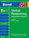 New Bond Assessment Papers Verbal Reasoning 9-10 Years Book 2