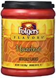 Folgers Flavours Hazelnut Ground Coffee 326g 11.5oz (1 PACK)