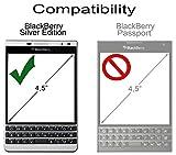 Skinomi SK18820 Pasaporte - Protector de Pantalla (Protector de Pantalla, Blackberry, Passport, Resistente a rayones, Transparente, 1 Pieza(s))