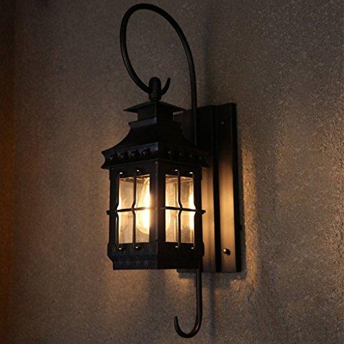 MOMO Kontinentale kreative Retro Wand-Wand-Wand-Gang-Gang-Treppen-Korridor-Beleuchtungstechnik-Lampe