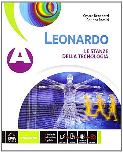 Leonardo. Vol. A-B. Per la Scuola media  . Con e-book