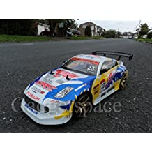 Nissan 350Z Style ORC 4WD Drift Radio Remote Control Car POWERFUL 280 Motor RC Drift Car 1:10 Scale - 4 FREE Rubber Tires for Grip by Action Force Ltd