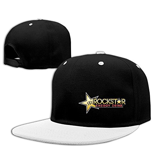 Hittings Cool Rockstar Adjustable Baseball Hats (8 Colors) (Rockstar Hats)