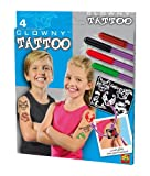 SES creative 09672 - Tattoo-Stifte Clowny