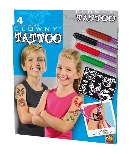 (SES creative 09672 - Tattoo-Stifte Clowny)