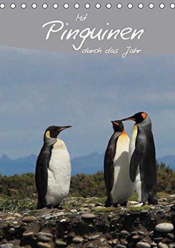 Mit Pinguinen durch das Jahr (Tischkalender 2018 DIN A5 hoch): Dieser Pinguin Kalender begleitet Sie durch das Jahr und bietet genügend Platz für ... [Apr 01, 2017] Köhler, Ute und Göb, Clemens