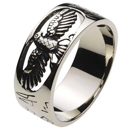 Cenote (Cenote) R5025[weiß Metall Zubehör] Native Eagle Ring 18553827Japan Größe Nr. 27 (Eagle Native)