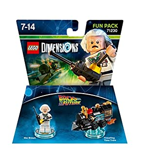 Figurine 'Retour vers le Futur' Pack Héros - Doc Brown : Fun Pack (B00Y2W0NYA) | Amazon price tracker / tracking, Amazon price history charts, Amazon price watches, Amazon price drop alerts