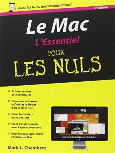 Le Mac, L'Essentiel pour les Nuls 3e édition par Mark L. CHAMBERS