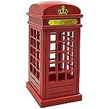 Cabina telefónica Vintage Londres diseñado de lampara de mesa, USB LED noche Touch Sensor lámpara ( Construido en 3 LEDs, brillo ajustable ), dormitorio decoración / novedad cumpleaños vacaciones Regalo
