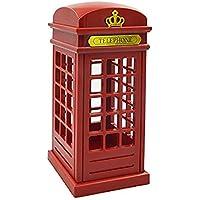 Cabina di telefono di Londra Vintage progettato