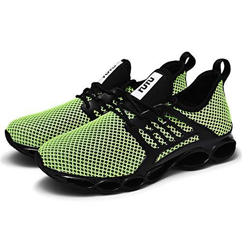 Tinovet Uomo Donna Air Scarpe da Shoes Sneakers Respirabile Mesh Corsa Sportive Fitness Indoor Sportive di Sicurezza Scarpe