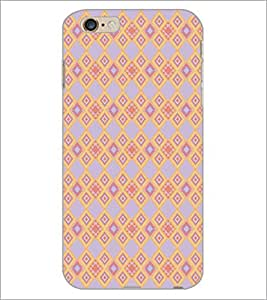 PrintDhaba Pattern D-5165 Back Case Cover for APPLE IPHONE 6 (Multi-Coloured)