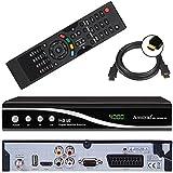 Amstrad HDTV Sat Receiver (USB, HDMI, Audio Cinch, Scart, DVB-S2)