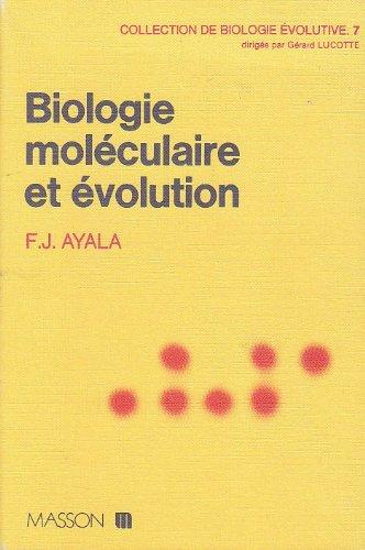 Biologie moléculaire et évolution