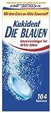 Kukident Die Blauen, 2er Pack (2 x 104 Stk)