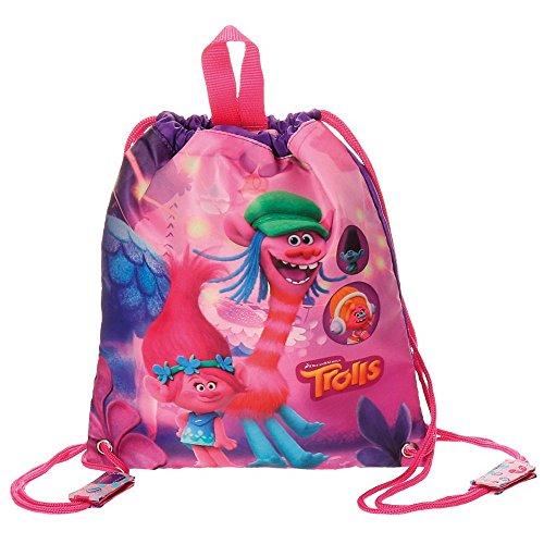 Imagen de trolls friends  infantil, 30 cm, 0.75 litros, rosa