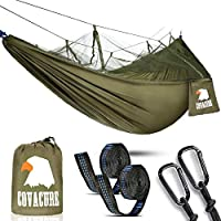 Camping Hammock with Mosquito Net - 2 Person Outdoor Travel Hammock for Camping Hiking Backpacking