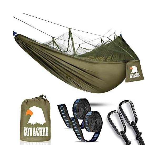 Camping Hammock with Mosquito Net - Outdoor Travel Hammock for Camping Hiking Backpacking 1