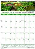 House of Doolittle Earthscapes Gärten der Welt Wandkalender 12Monate Januar 2015bis Dezember 2015, 38,1x 55,9cm, Foto, recyceltem (hod303)