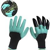 Siming 2Paar Garten Genie Handschuhe, wasserdicht Graben Handschuhe mit Krallen zum Bepflanzen und Gartenarbeit