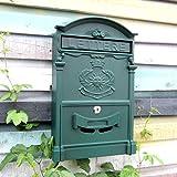 HZB Europäische Postfach-Landhaus-im Freien kreative Wand-wasserdichte Mailbox