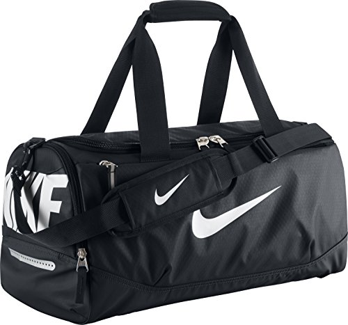 Nike Herren Sporttasche Team Training Max Air Small Black/White, 51 x 25 x 28 cm, 30 Liter