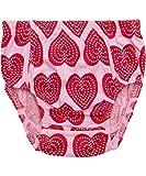 Maxomorra - Braguitas bordadas - para bebé niña rosa 50 cm/56 cm