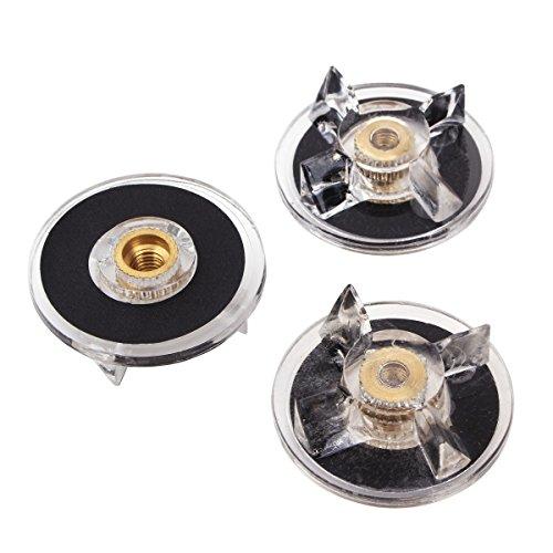 UNIQUEBELLA Ersatzteile für Magic Bullet, 3pcs Basis Getriebe für 250w Magic Bullet Blender Saftmischer - 3