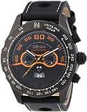 Nautec No Limit Herren-Armbanduhr XL Monza Chronograph Quarz Leder MZ QZ/LTGMBK