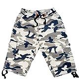 #5: chopper club camo Cargo Shorts for Boys